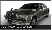 free download model toyota century format 3ds.